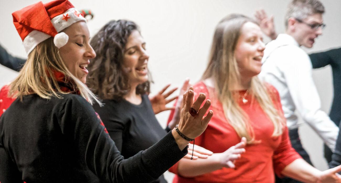 Concert Noël chorale d'entreprise