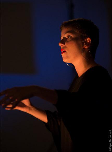 Portrait chef de chœur Zoélie Macaudière