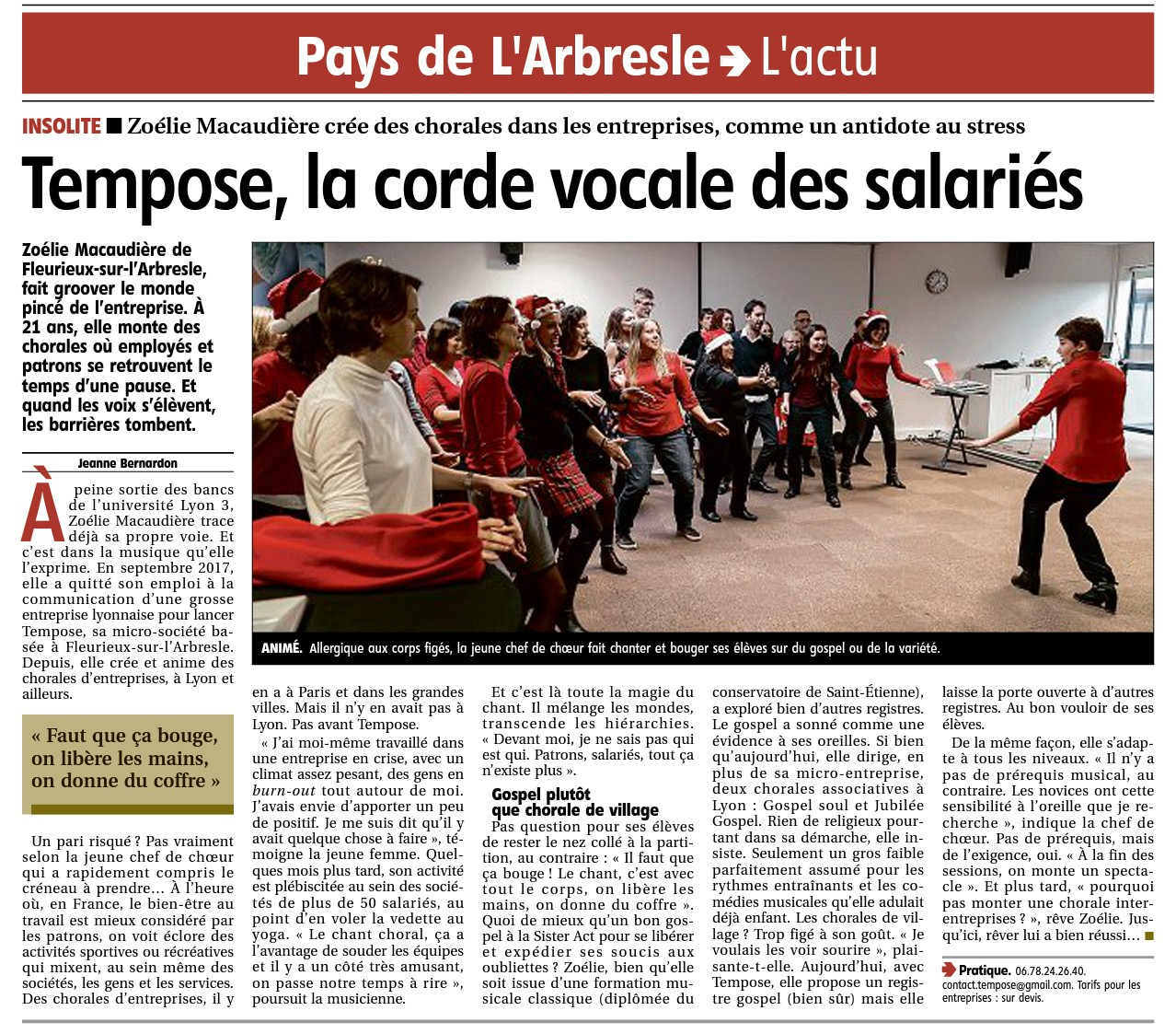 Article Tempose 29 mars 2019