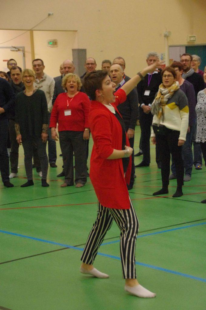 Zoélie Team building chant choral